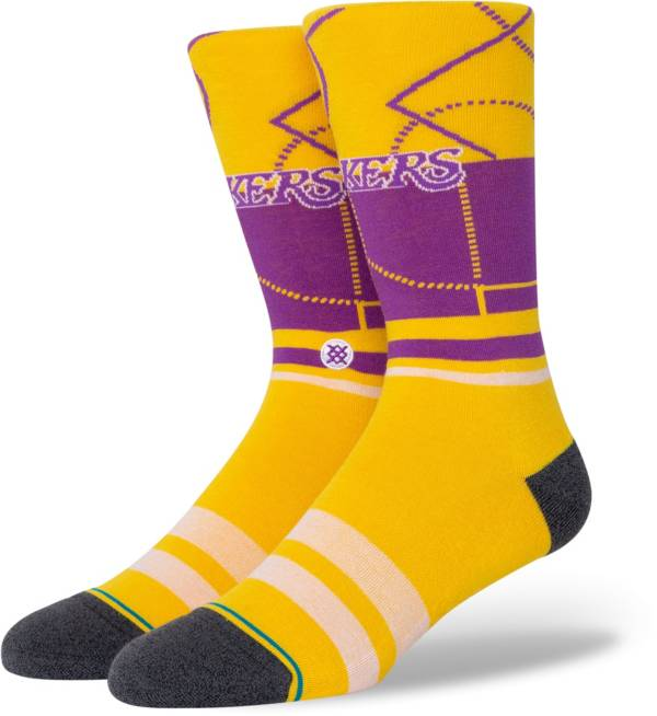 Stance Men's Los Angeles Lakers Cross Court Socks product image