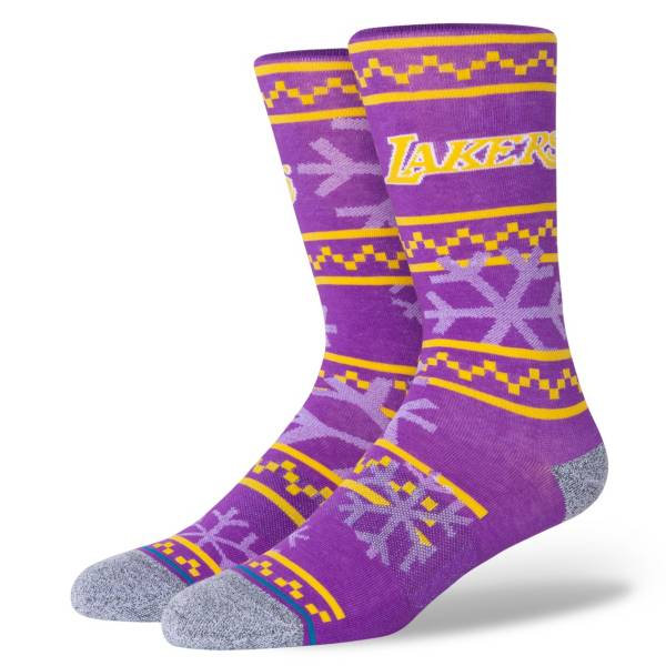 Stance Los Angeles Lakers Frosted Crew Socks product image