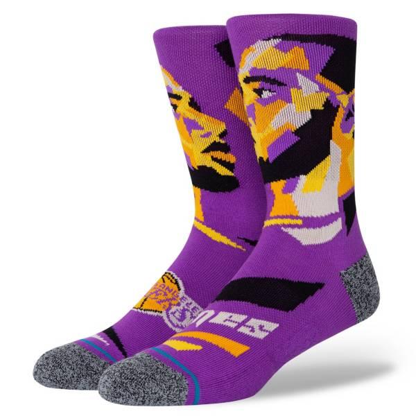 Stance Los Angeles Lakers LeBron James Profile Crew Socks product image