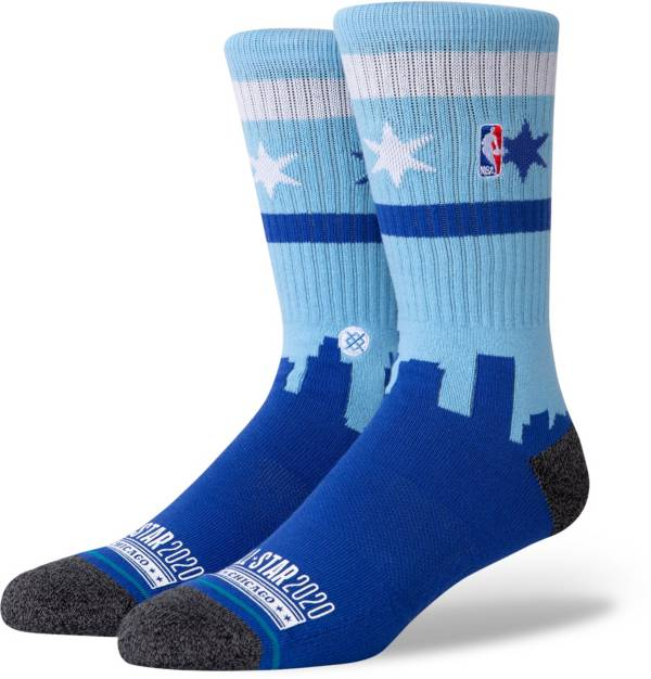 Stance 2020 NBA All-Star Game Blue Skyline Socks product image
