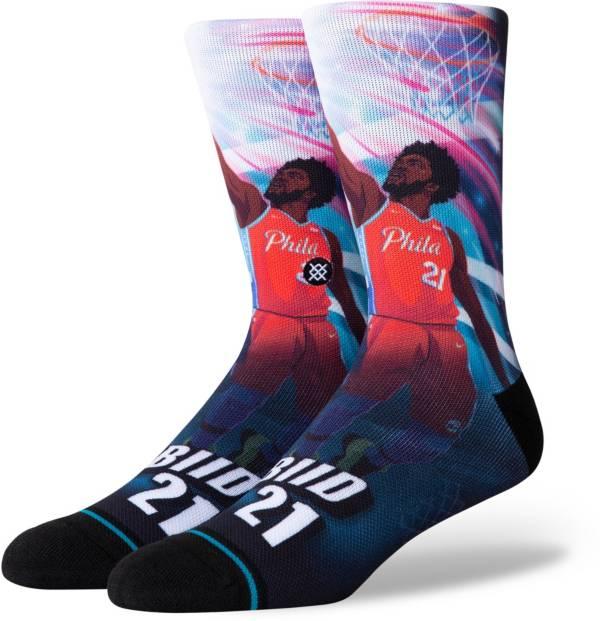Stance Philadelphia 76ers Joel Embiid Jersey Crew Socks product image