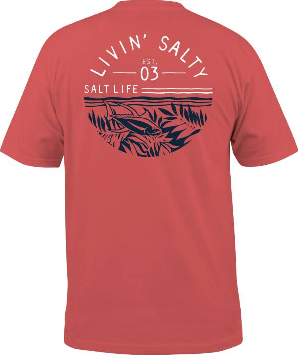 Salt Life Men's Fish Tropics Circle T-Shirt product image