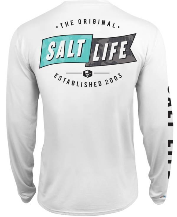 Salt Life Men's Salute Long Sleeve Fishing Shirt product image