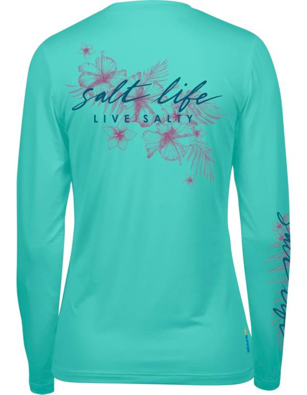 Salt Life Women's Tropical Getaway Long Sleeve Shirt product image