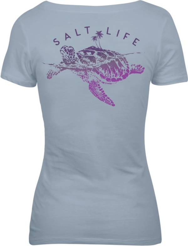 Salt Life Women's Turtle Island V-Neck T-Shirt product image