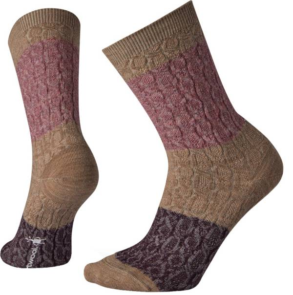 Smartwool Women's Color Block Cable Crew Socks product image