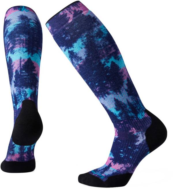 Smartwool Women's PhD Snow Light Elite Print Over the Calf Socks product image
