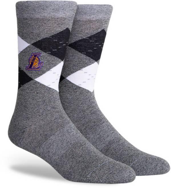 NBA Los Angeles Lakers Argyle Case Crew Socks product image