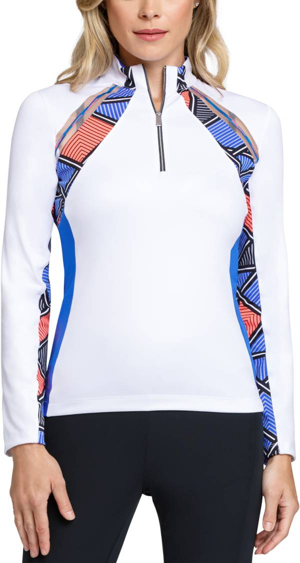 Tail Women's Paisley ¼-Zip Golf Pullover product image
