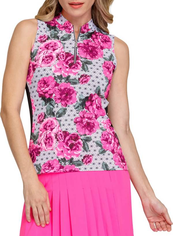 Tail Women's Sharon Novelty Zip Neck Sleeveless Shirt product image
