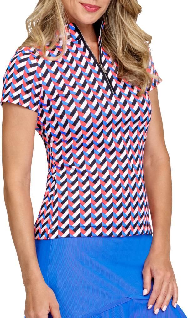Tail Women's Mockneck Short Sleeve Golf Polo product image