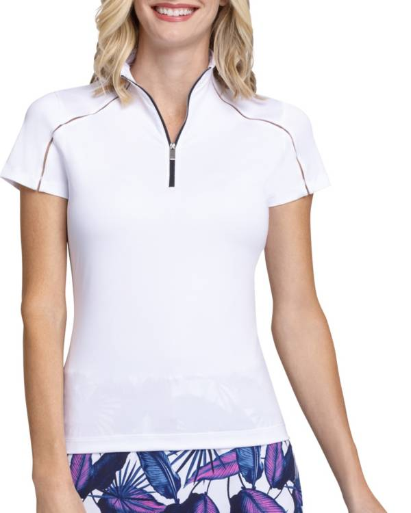 Tail Women's Funnel Neck Short Sleeve Golf Polo product image