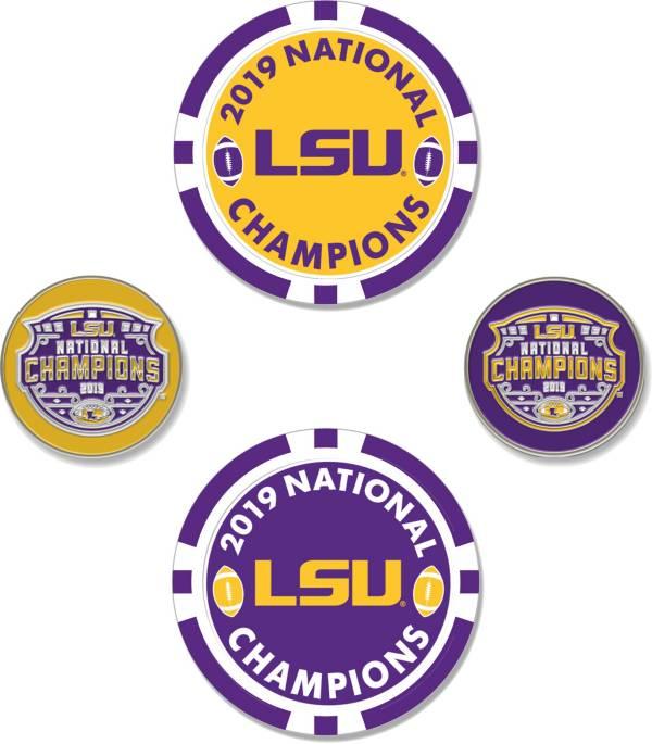 Team Effort LSU National Champions Golf Ball Marker Set product image