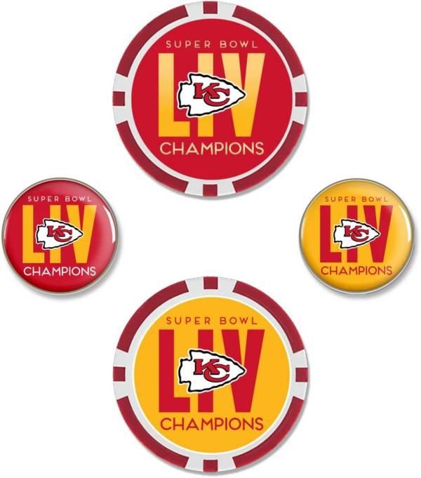 Team Effort Kansas City Chiefs Super Bowl Champions Golf Ball Marker Set product image