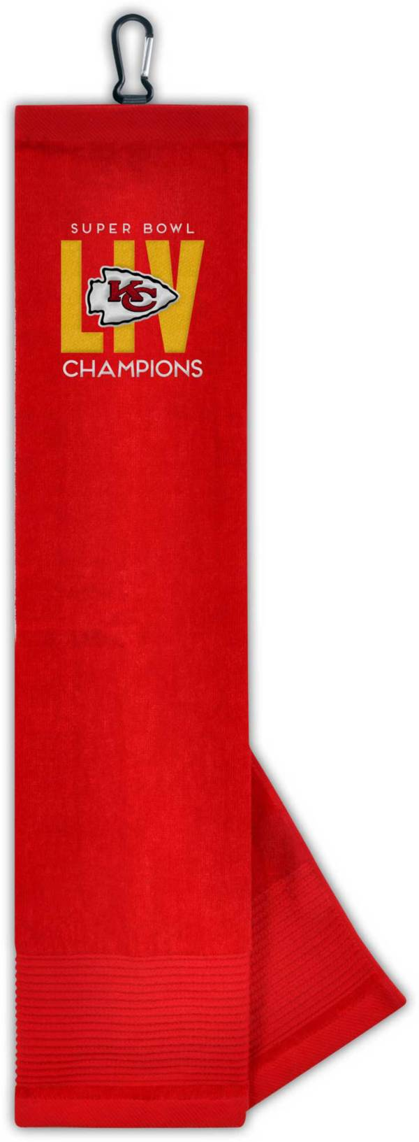 Team Effort Kansas City Chiefs Super Bowl Champions Tri-Fold Embroidered Towel product image