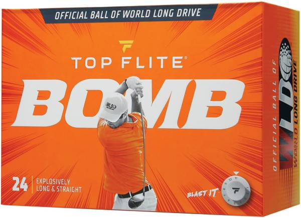 Top Flite 2020 BOMB Personalized Golf Balls – 24 Pack product image
