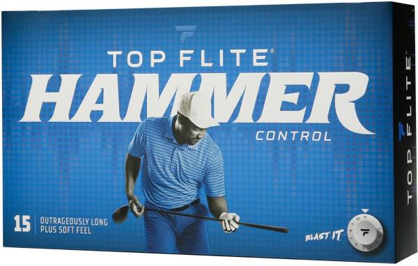 Top Flite 2020 Hammer Control Golf Balls – 15 Pack product image