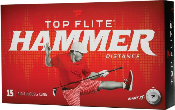 Top Flite 2020 Hammer Distance Personalized Golf Balls – 15 Pack product image