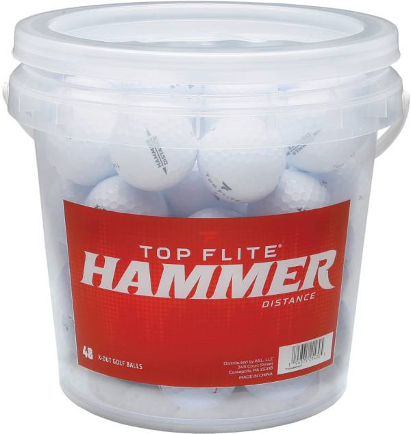 Top Flite Hammer X-Out Golf Balls – 48 Pack product image