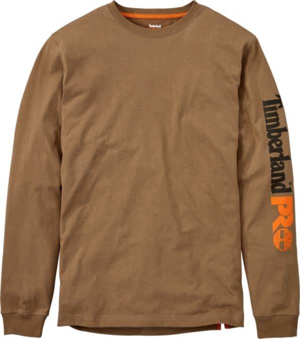 Timberland Men's Pro Logo Sleeve Base Plate Wicking T-Shirt product image