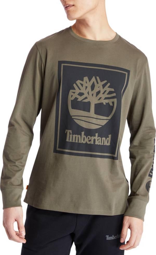 Timberland Men's Stack Logo Long Sleeve T-Shirt product image