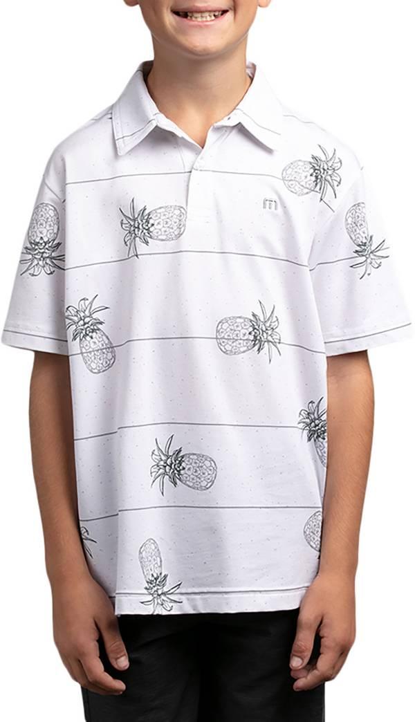 TravisMathew Boys' J Stacked Deck Polo Shirt product image