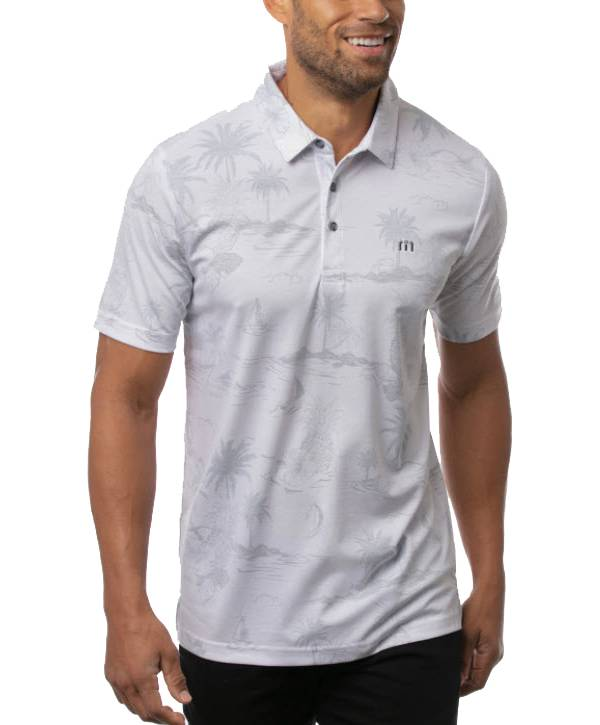TravisMathew Men's Check In Short Sleeve Golf Polo product image