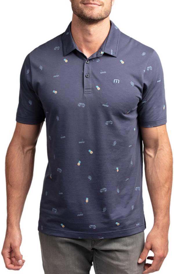 TravisMathew Men's Happy Thoughts Short Sleeve Golf Polo product image