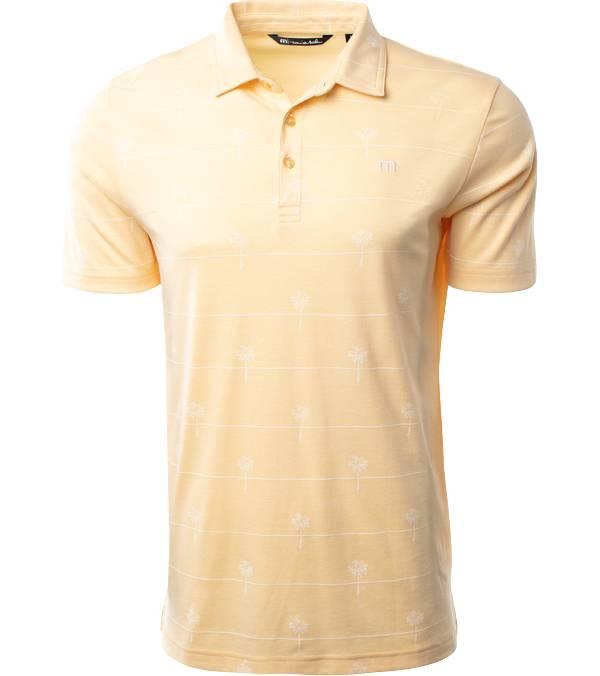 TravisMathew Men's Hit Guac Bottom Golf Polo product image