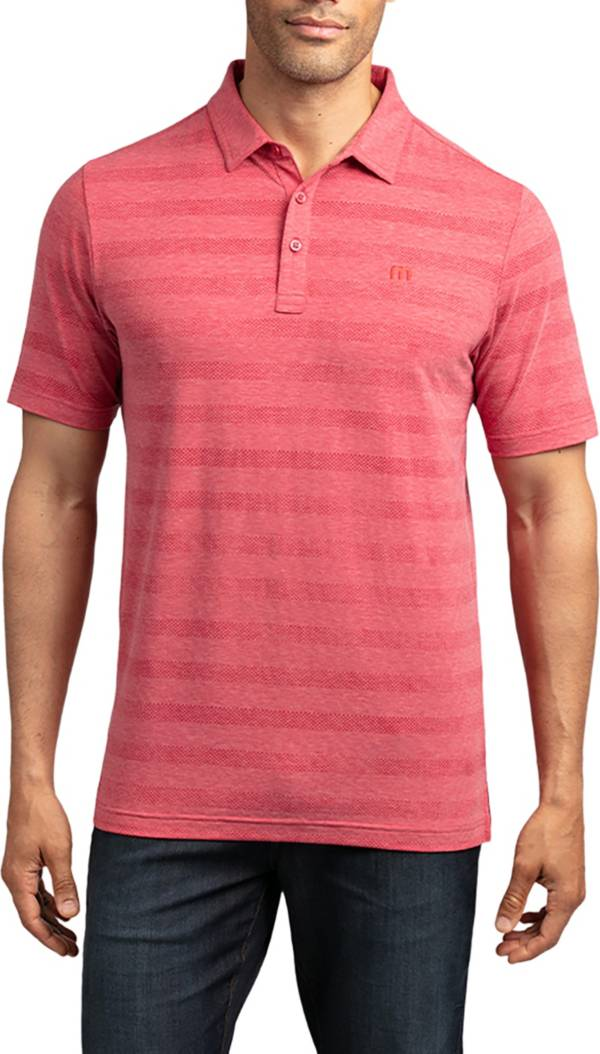 TravisMathew Men's Heater Polo Shirt product image