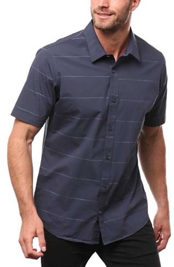 TravisMathew Men's Isla Blanca Woven Short Sleeve Button Down product image