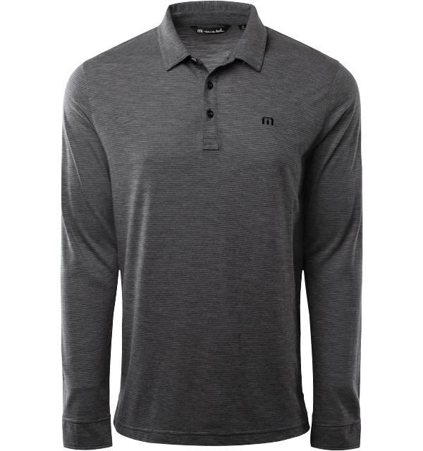 TravisMathew Men's Yacht Club Long Sleeve Golf Polo product image