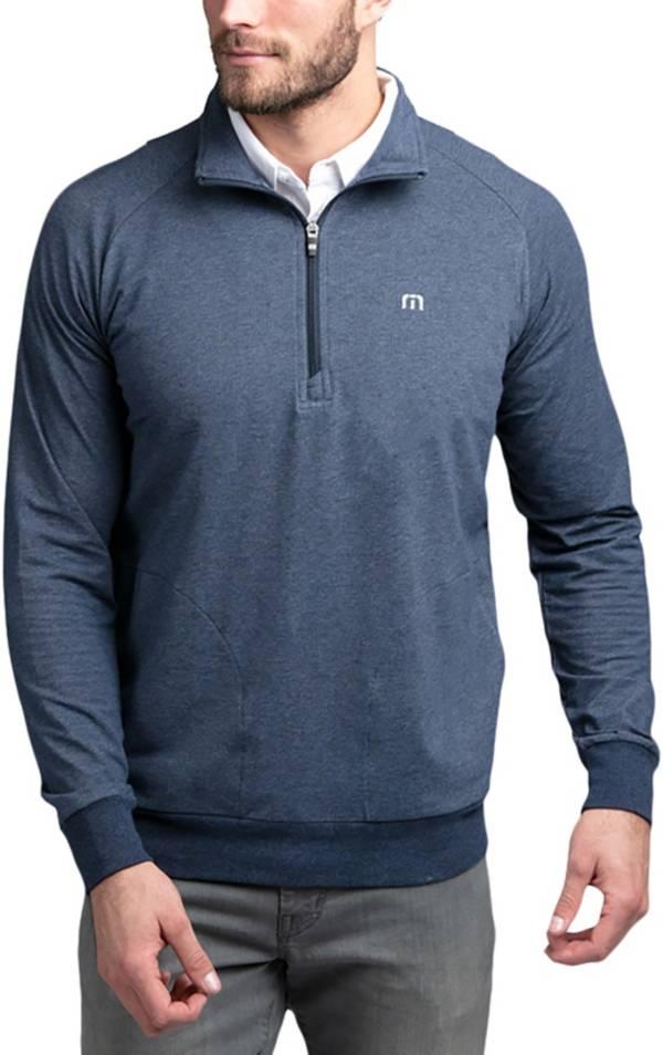 TravisMathew Men's Zachary ¼ Zip Golf Pullover product image