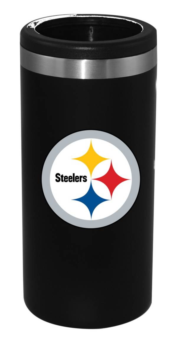The Memory Company Pittsburgh Steelers 12oz Slim Can Koozie product image
