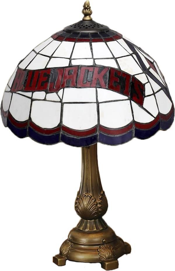 Memory Company Columbus Blue Jackets Tiffany Table Lamp product image