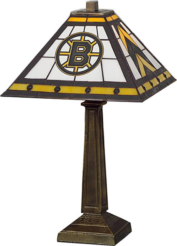 Memory Company Boston Bruins Mission Tiffany Table Lamp product image