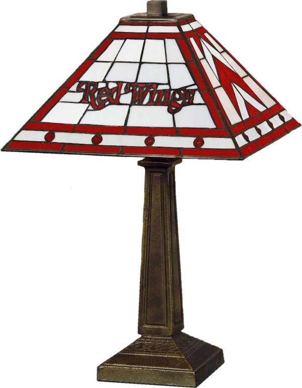 Memory Company Detroit Red Wings Mission Tiffany Table Lamp product image