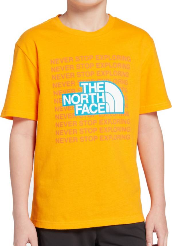 The North Face Boys' Short Sleeve Graphic T-Shirt product image