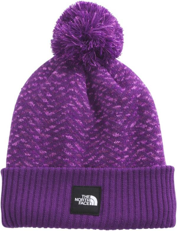 The North Face Girls' Chevron Pom Beanie product image