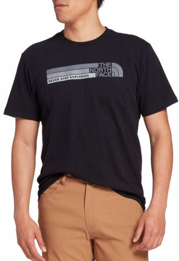 The North Face Men's Front Tonal Bars Graphic T-Shirt product image