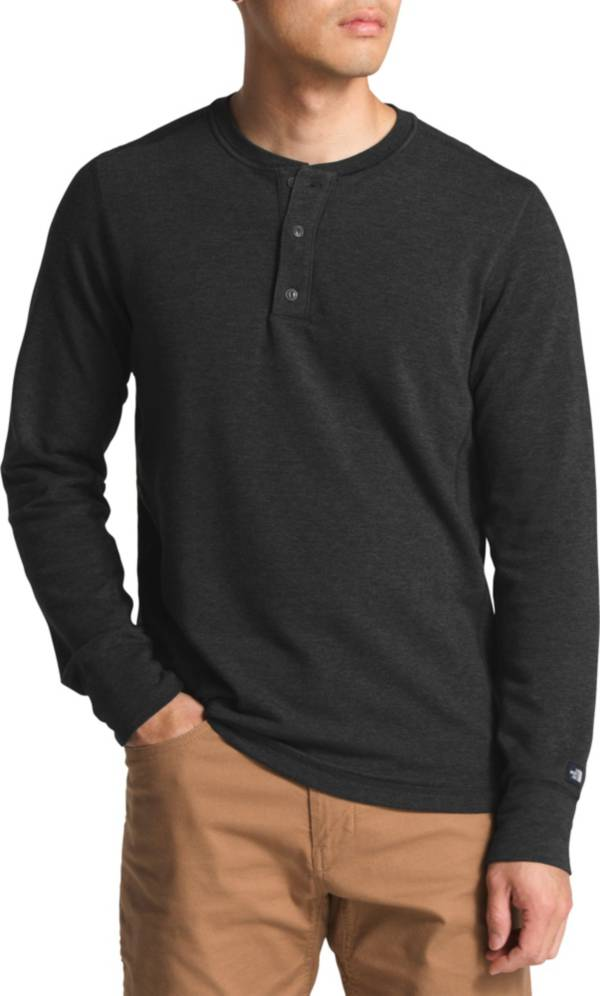 The North Face Men's TNF Terry Long Sleeve Henley Shirt product image