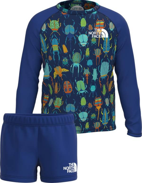 The North Face Toddler Boys' Sun Long Sleeve Shirt and Shorts 2-Piece Set product image