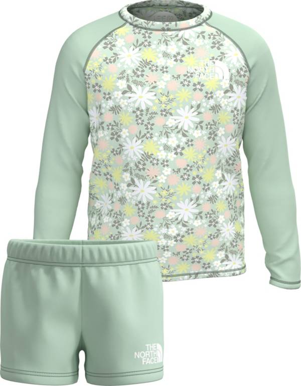 The North Face Toddler Girls' Sun Long Sleeve Shirt and Shorts 2-Piece Set product image