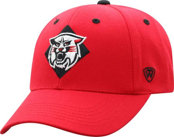 Top of the World Men's Davidson Wildcats Red Triple Threat Adjustable Hat product image
