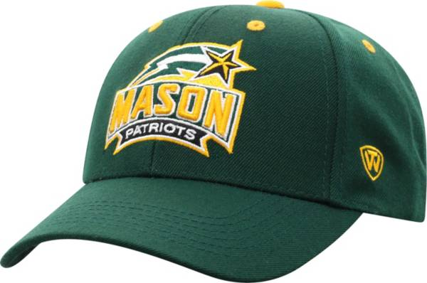 Top of the World Men's George Mason Patriots Green Triple Threat Adjustable Hat product image