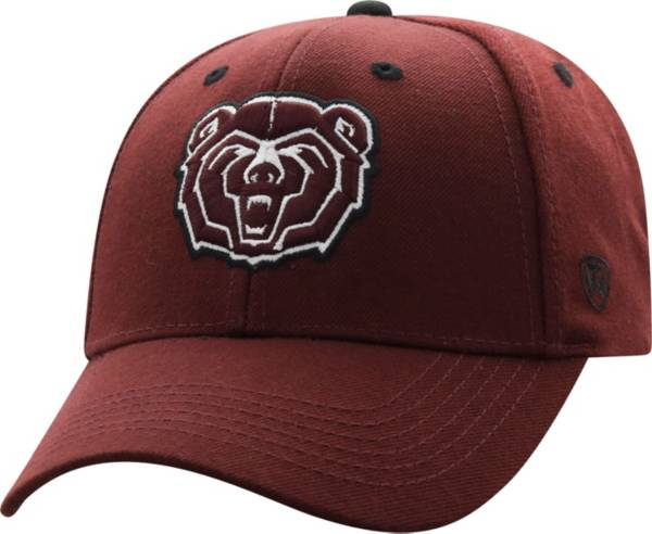 Top of the World Men's Missouri State Bears Maroon Triple Threat Adjustable Hat product image