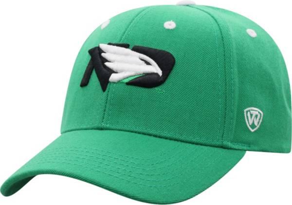 Top of the World Men's North Dakota Fighting Hawks Green Triple Threat Adjustable Hat product image