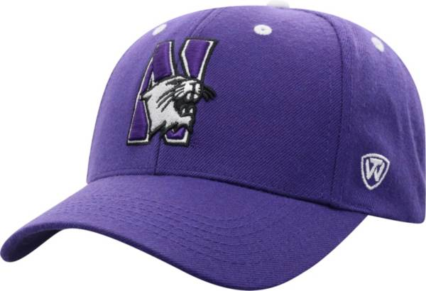 Top of the World Men's Northwestern Wildcats Purple Triple Threat Adjustable Hat product image