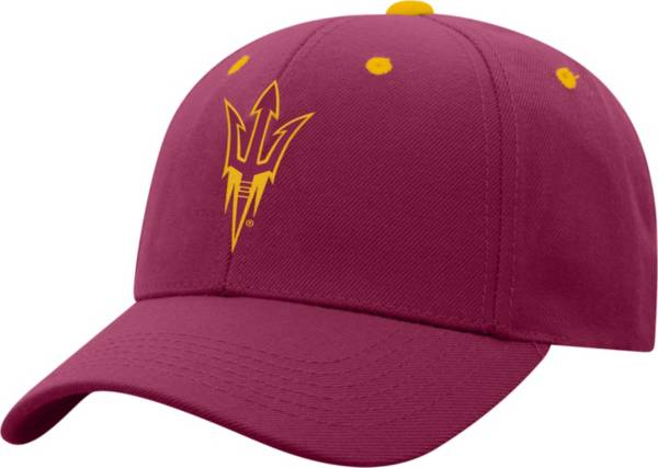 Top of the World Men's Arizona State Sun Devils Maroon Triple Threat Adjustable Hat product image