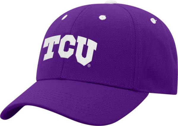 Top of the World Men's TCU Horned Frogs Purple Triple Threat Adjustable Hat product image
